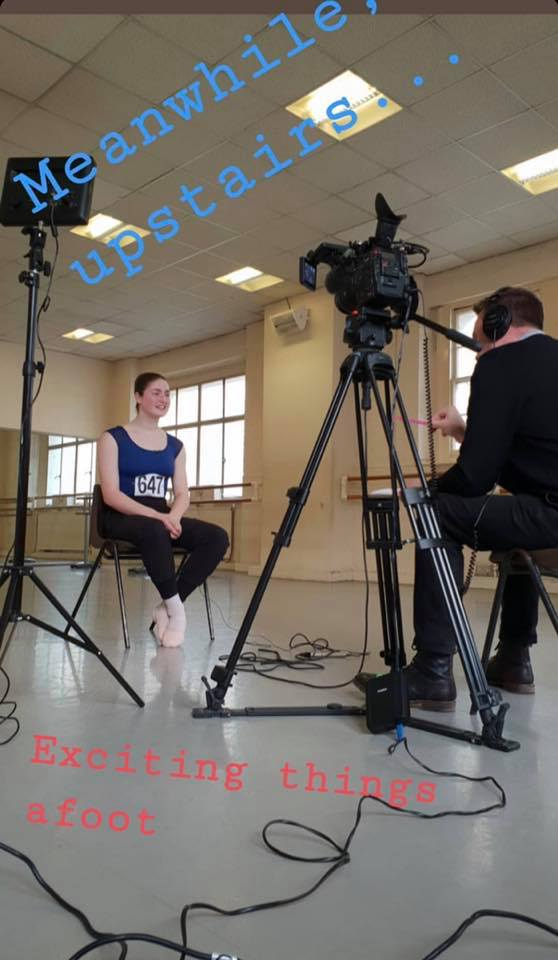 Our pupil interviewed at the London Children's Ballet